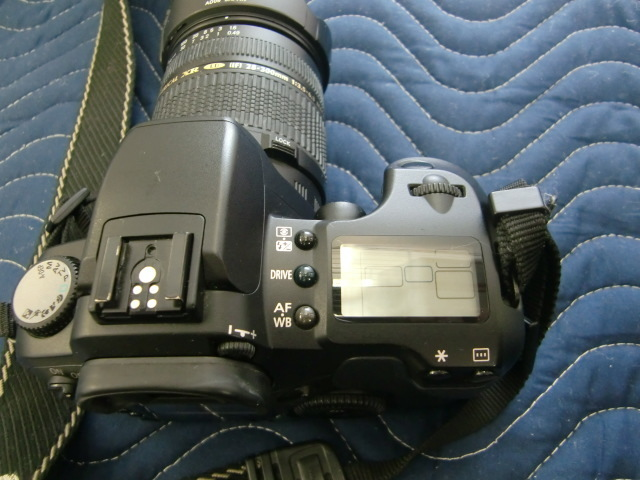 Canon キャノン カメラ EOS D60 レンズ TAMRON AF ASPHERICAL XR 28-300mm 1:3.5-6.3 MACRO 鈴3_画像4