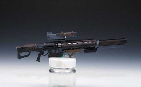(GKP-008)MG 1/100 ガンダム ジム・スナイパー 用ビーム・ライフル 通用武器 改造パーツ 未組立 ガレージキット