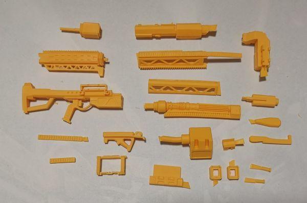 (GKP-008)MG 1/100 ガンダム ジム・スナイパー 用ビーム・ライフル 通用武器 改造パーツ 未組立 ガレージキット_画像8