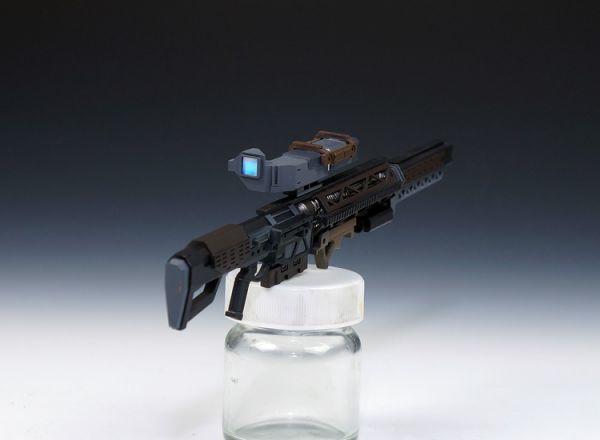 (GKP-008)MG 1/100 ガンダム ジム・スナイパー 用ビーム・ライフル 通用武器 改造パーツ 未組立 ガレージキット_画像3