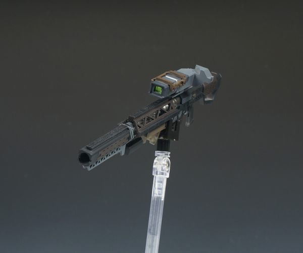(GKP-008)MG 1/100 ガンダム ジム・スナイパー 用ビーム・ライフル 通用武器 改造パーツ 未組立 ガレージキット_画像4