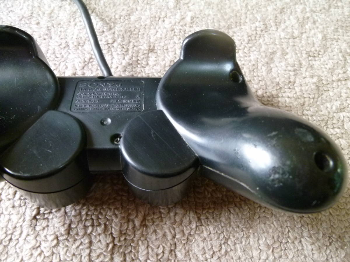 SONY PS2・PlayStation2・プレステ2 本体 SCPH-50000 動作確認済 ブラック A_画像6