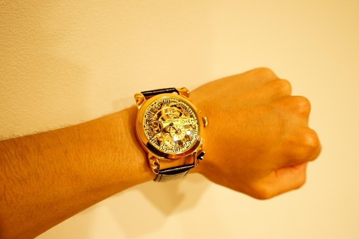 新品仕上げ ショパール Louis Ulysse Chopard アンティーク フルスケルトン アールデコ 手巻 腕時計 リケース シルバー 動作品 メンズ_画像8
