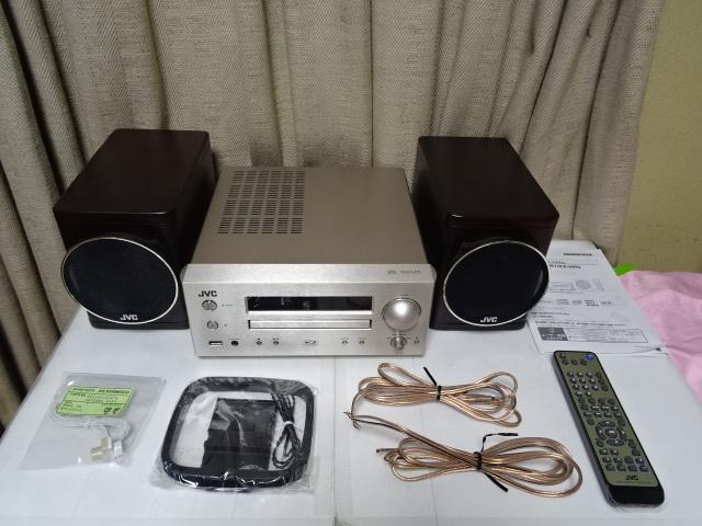 ☆彡JVC EX-HR5 スタジオマスター音質を再現するウッドコーン搭載コンポ 展示品 1年保証 BA_画像2