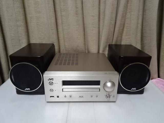 ☆彡JVC EX-HR5 スタジオマスター音質を再現するウッドコーン搭載コンポ 展示品 1年保証 BA_画像3