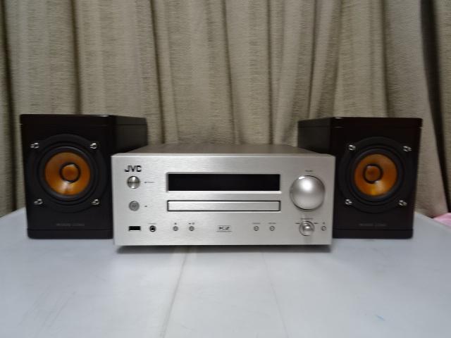 ☆彡JVC EX-HR5 スタジオマスター音質を再現するウッドコーン搭載コンポ 展示品 1年保証 BA_画像4