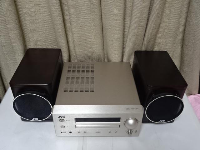 ☆彡JVC EX-HR5 スタジオマスター音質を再現するウッドコーン搭載コンポ 展示品 1年保証 BA_画像5