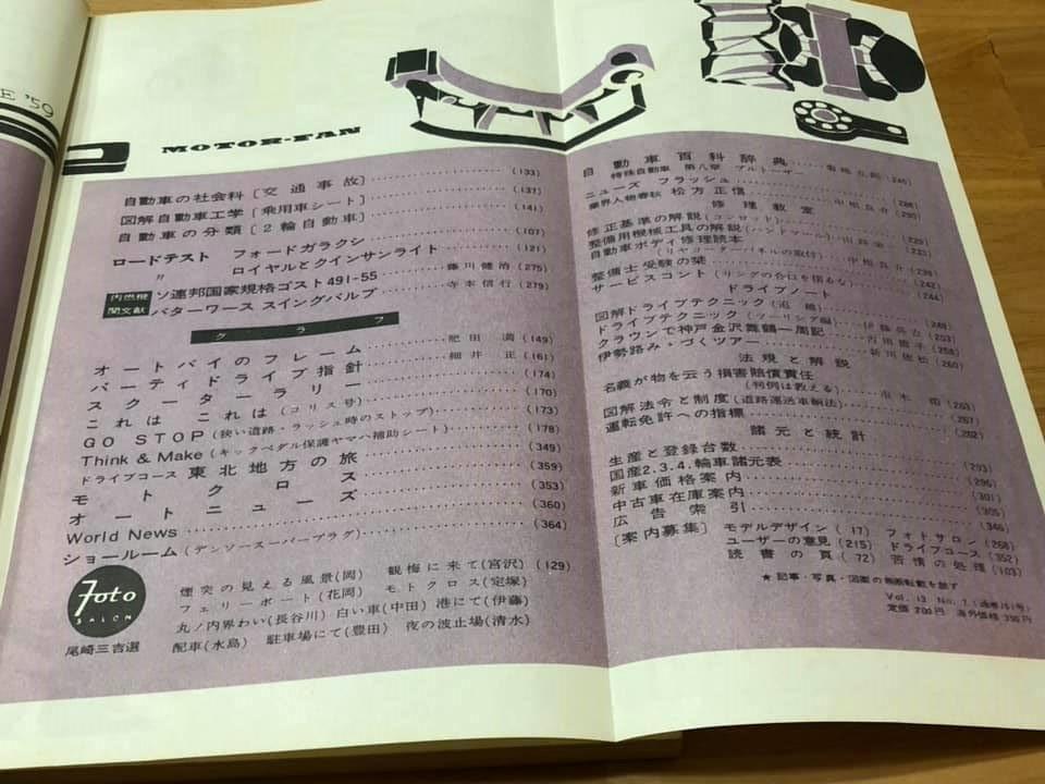 【中古】モーターファン 昭和34年5月1日発行 1959年 VOL.13 NO.7 _画像5