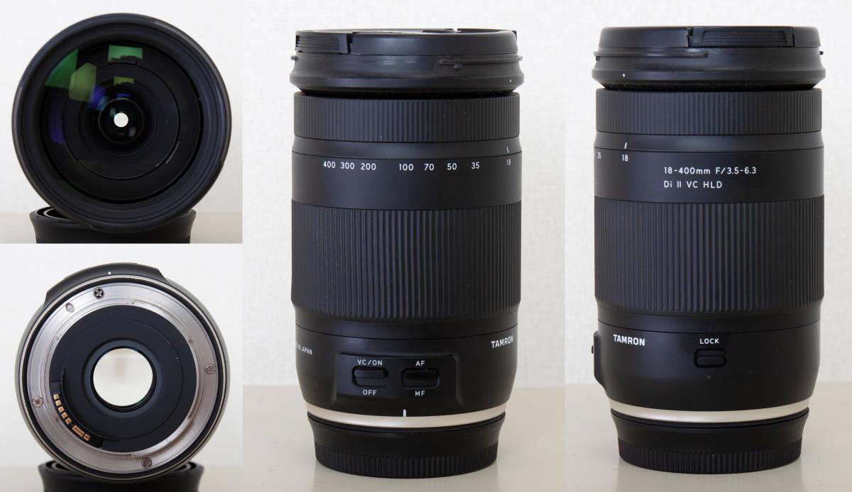 Canon EOS 7D タムロン18-400F/3.5-6.3DiⅡVCHLD NEEWER NW680_画像3