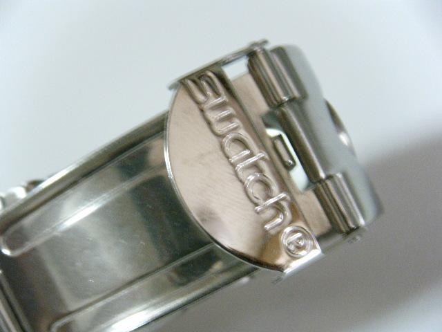 ★スイス腕時計Swatch ironyクロノグラフ Swiss スイス腕時計本物可動品 送料全国360円  _画像8