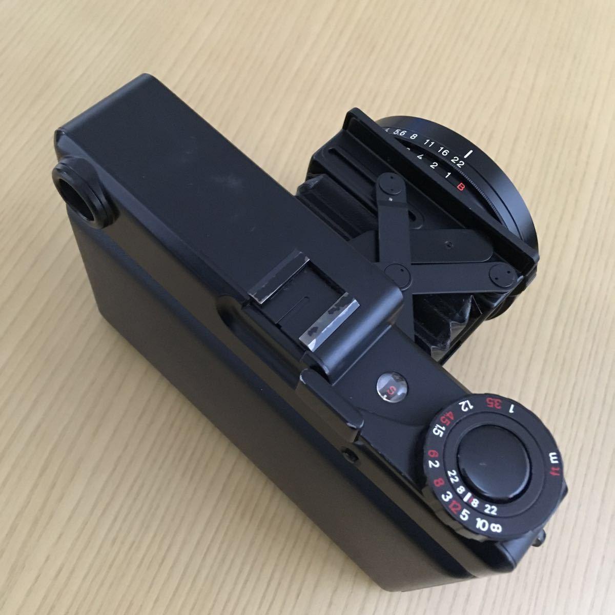 PLAUBEL makina 67 (Nikon Nikkor 80mm f2.8)プラウベル・マキナ 中判カメラ 完動品 シャッター切れスピード変化し露出計も動作しました。_画像4