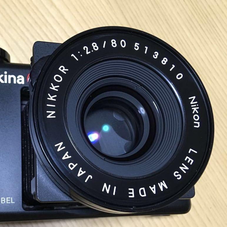 PLAUBEL makina 67 (Nikon Nikkor 80mm f2.8)プラウベル・マキナ 中判カメラ 完動品 シャッター切れスピード変化し露出計も動作しました。_画像10