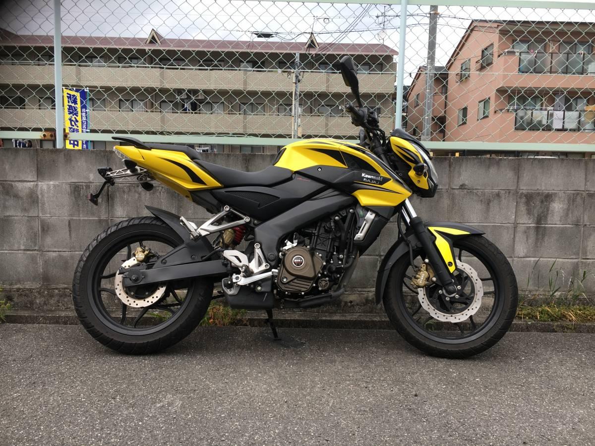 カワサキ パルサー200NS Pulser200NS 美車_画像2