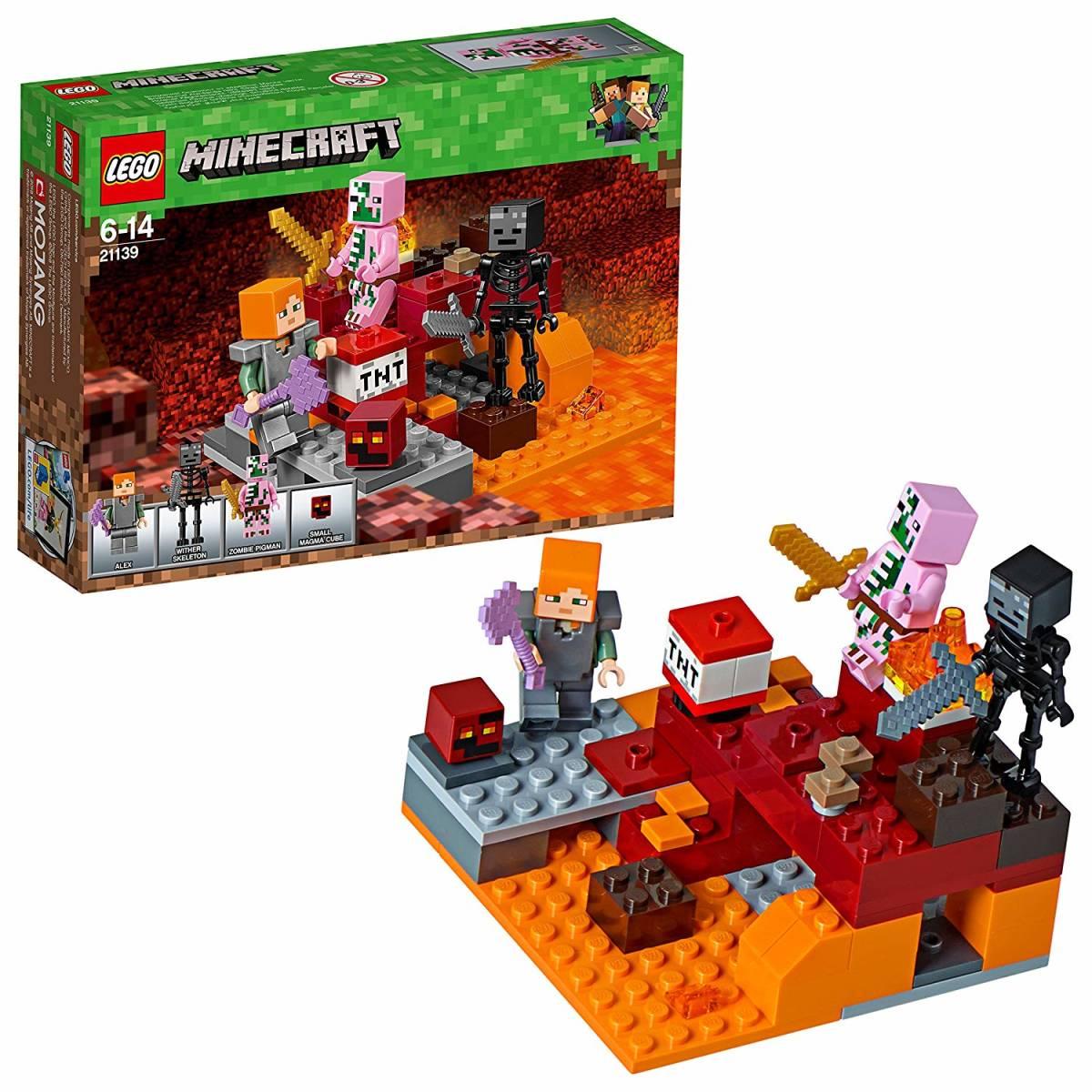 正規品 レゴ マインクラフト 暗黒界の戦い 21139 ネザー LEGO ミニフィグ ミニフィギュア_画像1