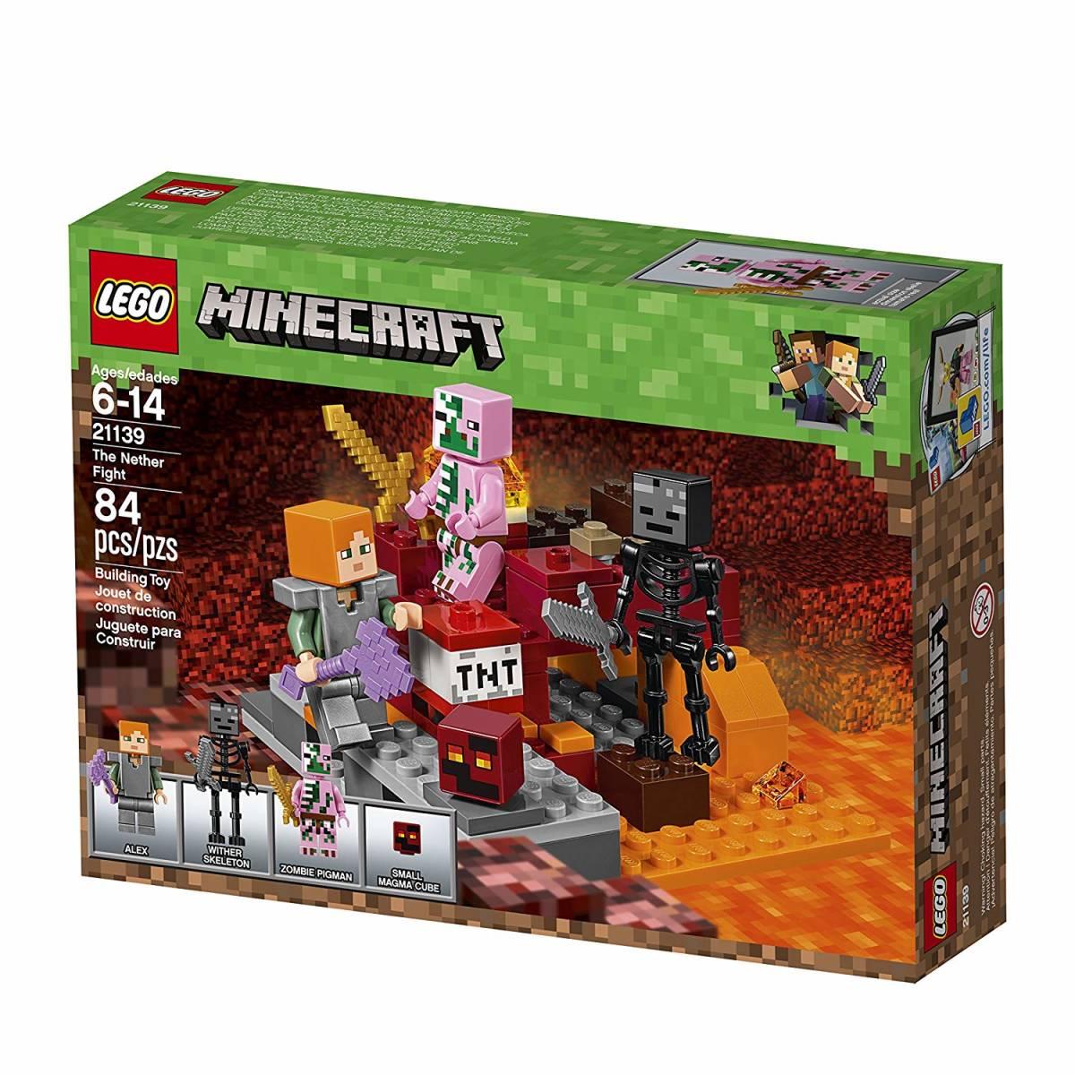正規品 レゴ マインクラフト 暗黒界の戦い 21139 ネザー LEGO ミニフィグ ミニフィギュア_画像2