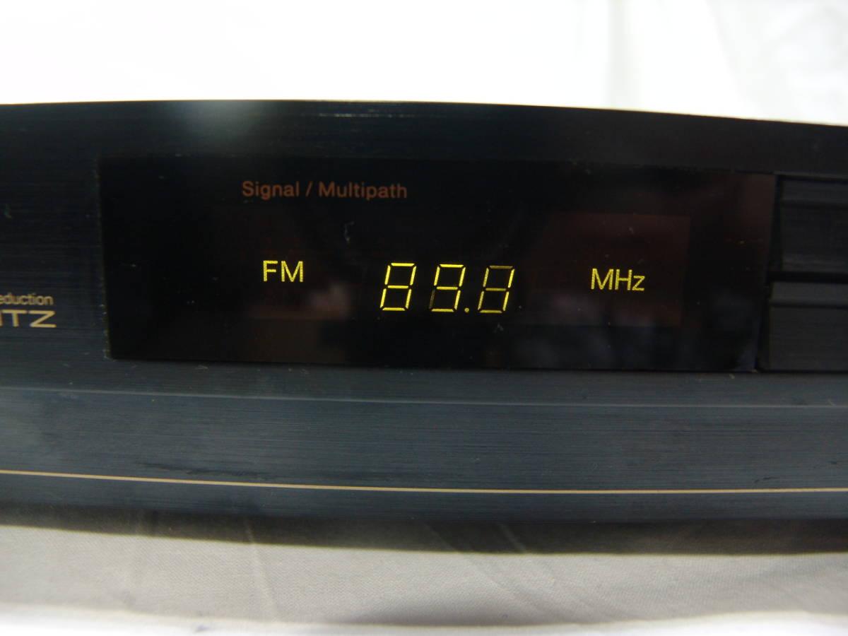 【やや難有り品】Nakamichi ナカミチ Schotz NRシステム搭載 ステレオFM/AMチューナー ST-70_画像8