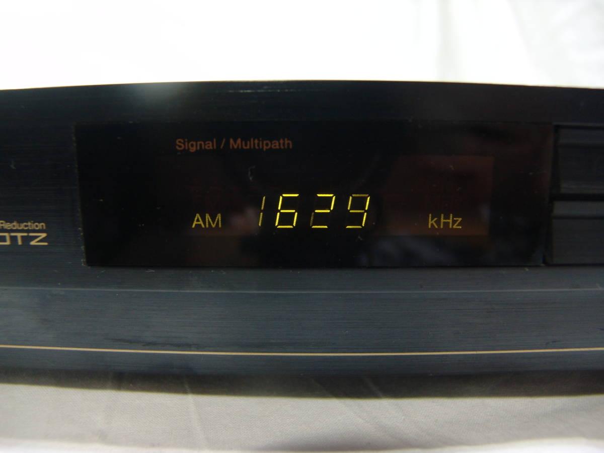 【やや難有り品】Nakamichi ナカミチ Schotz NRシステム搭載 ステレオFM/AMチューナー ST-70_画像9