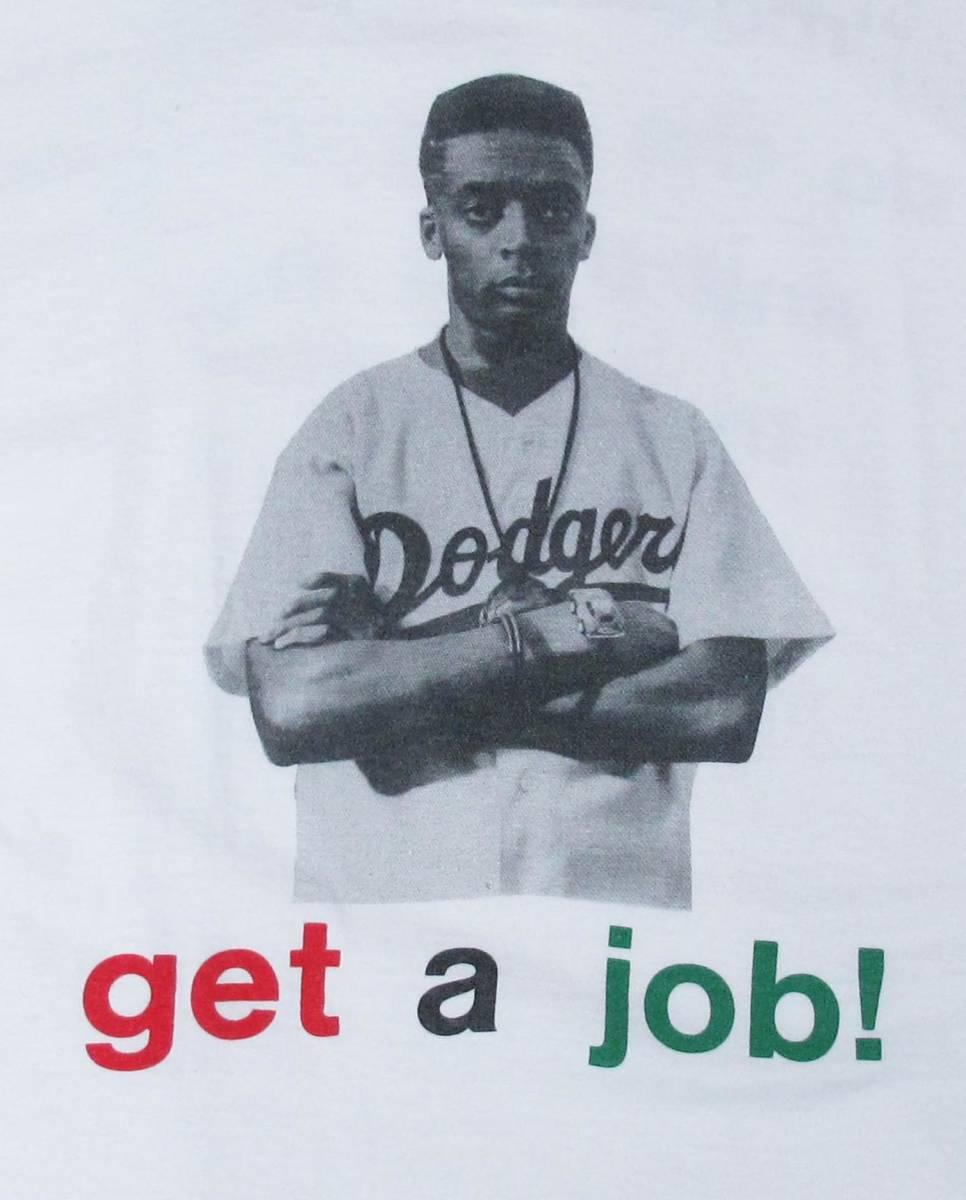 超レア! 90's USA製 SPIKE LEE 40 ACRES AND A MULE 『DO THE RIGHT THING』 Tシャツ MALCOLM X DE LA SOUL BEASTIE BOYS RUN DMC RAPTEE_画像5