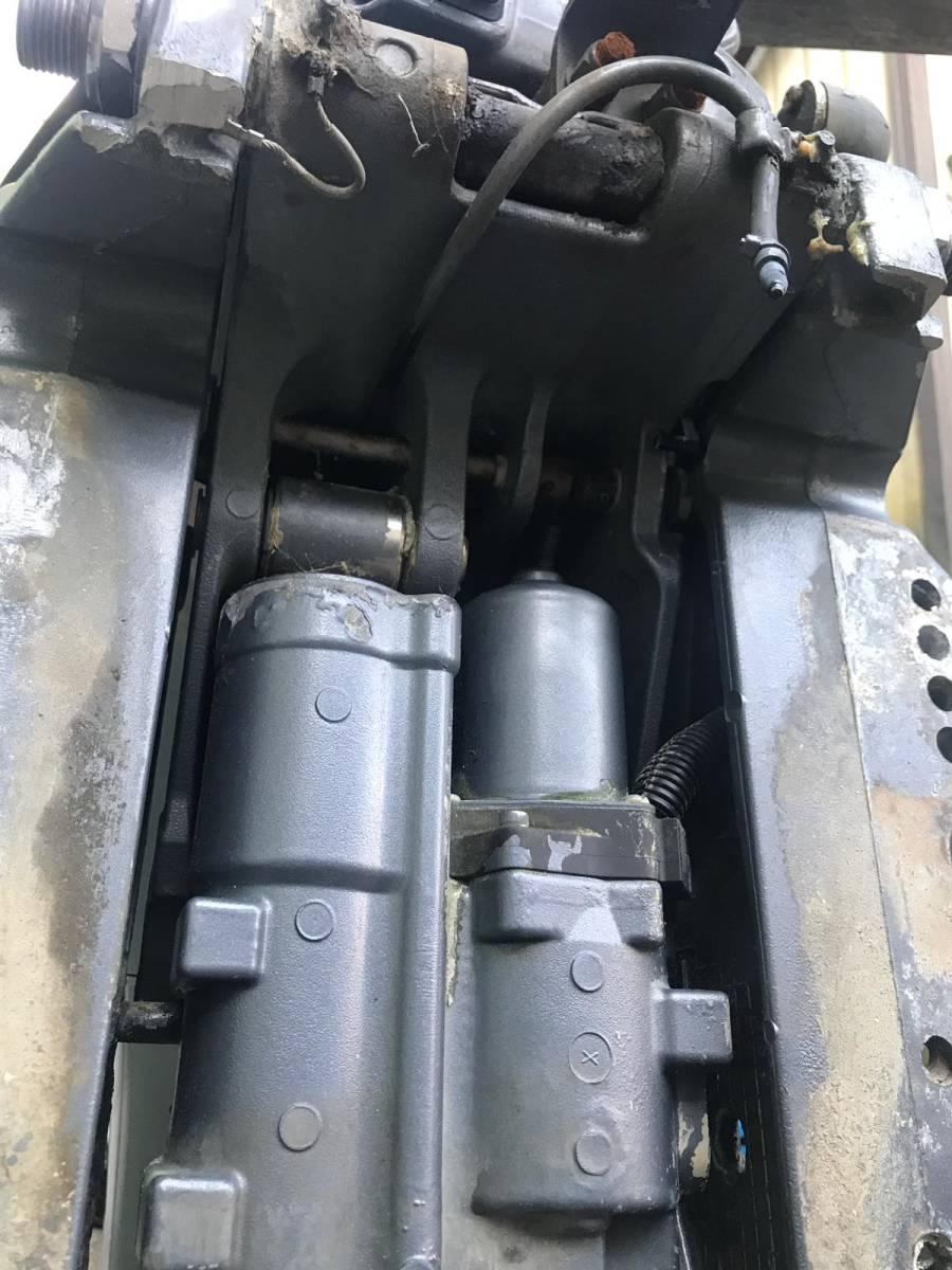 船外機 YAMAHA ヤマハ 50馬力 4ストローク 2005年7月製造 L足 動作確認済み  中古品_画像8