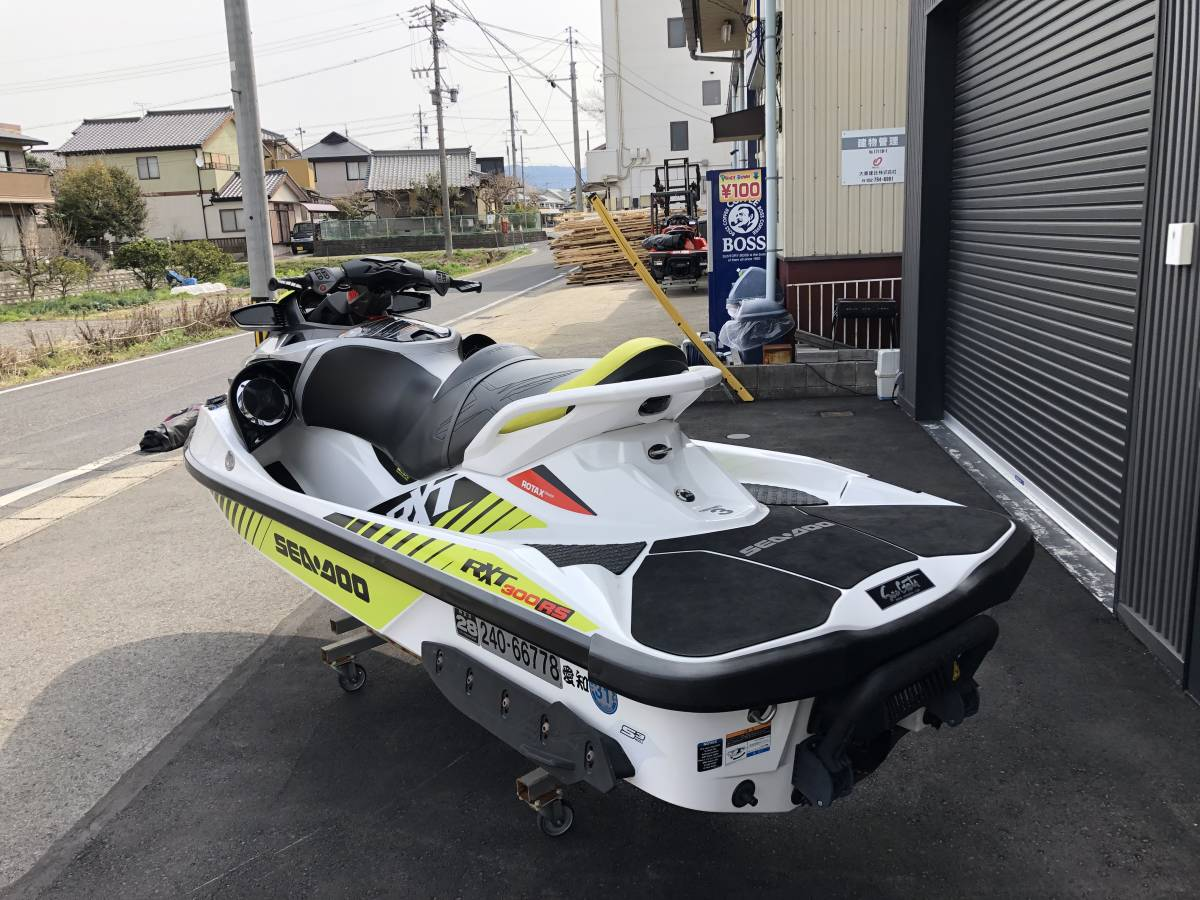 SEADOO/RXT-X300中古艇/カワサキ純正スピーカー付き_画像3