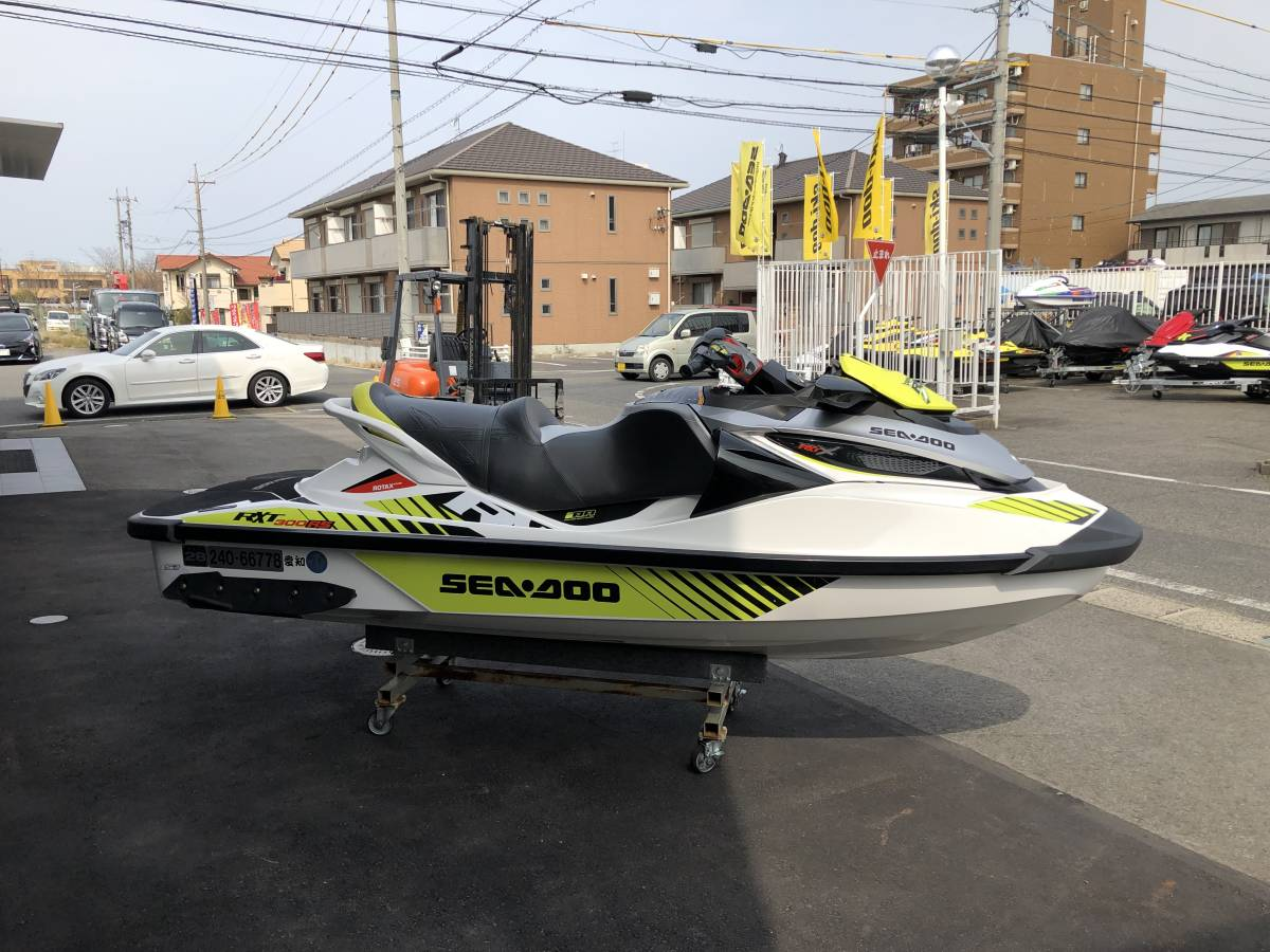 SEADOO/RXT-X300中古艇/カワサキ純正スピーカー付き_画像5
