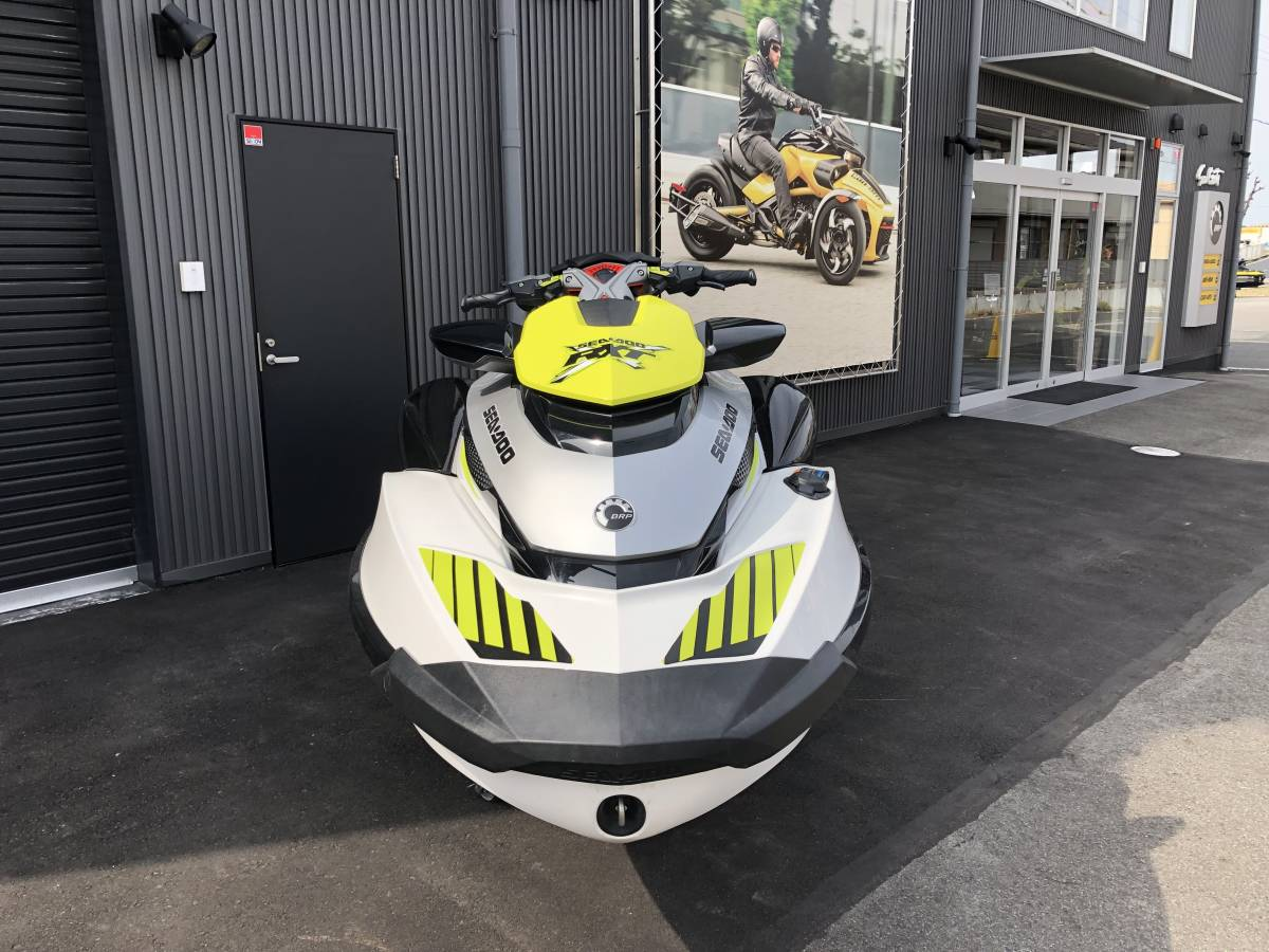 SEADOO/RXT-X300中古艇/カワサキ純正スピーカー付き_画像6