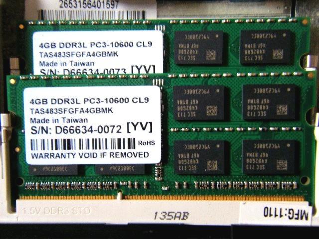 ☆☆I-O DATA SDY1333-4G PC3-10600 4GBx2 合計8GB 動作確認済!☆☆_画像3