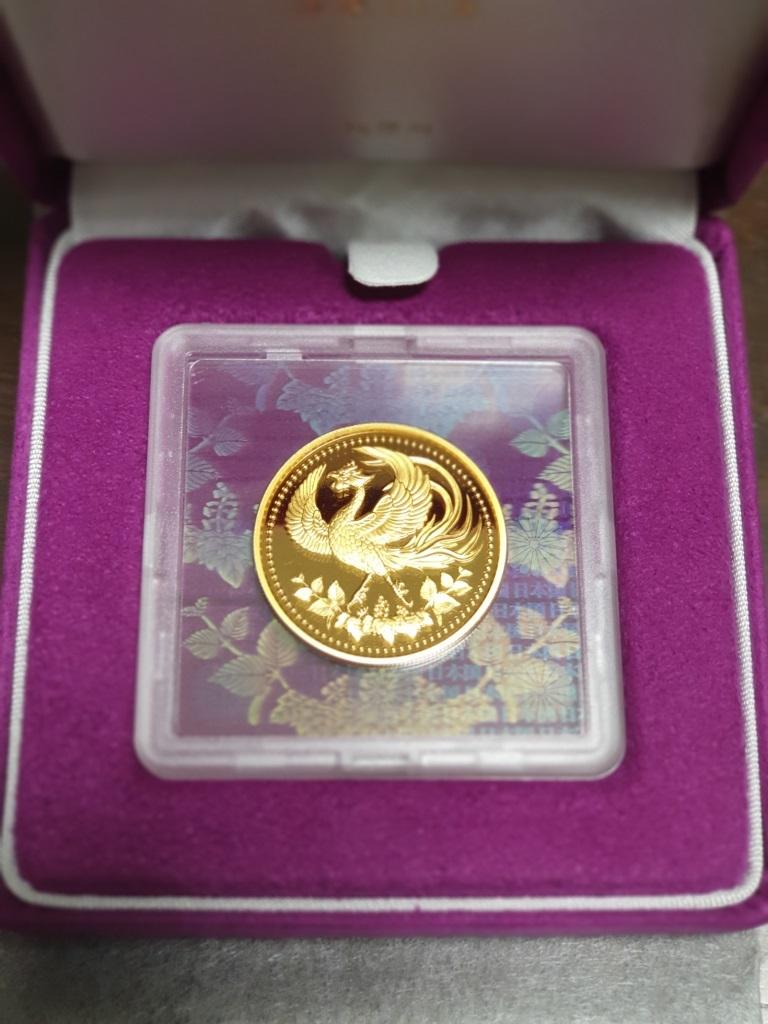 天皇陛下御在位30年記念プルーフ貨幣セット 金貨単体セット