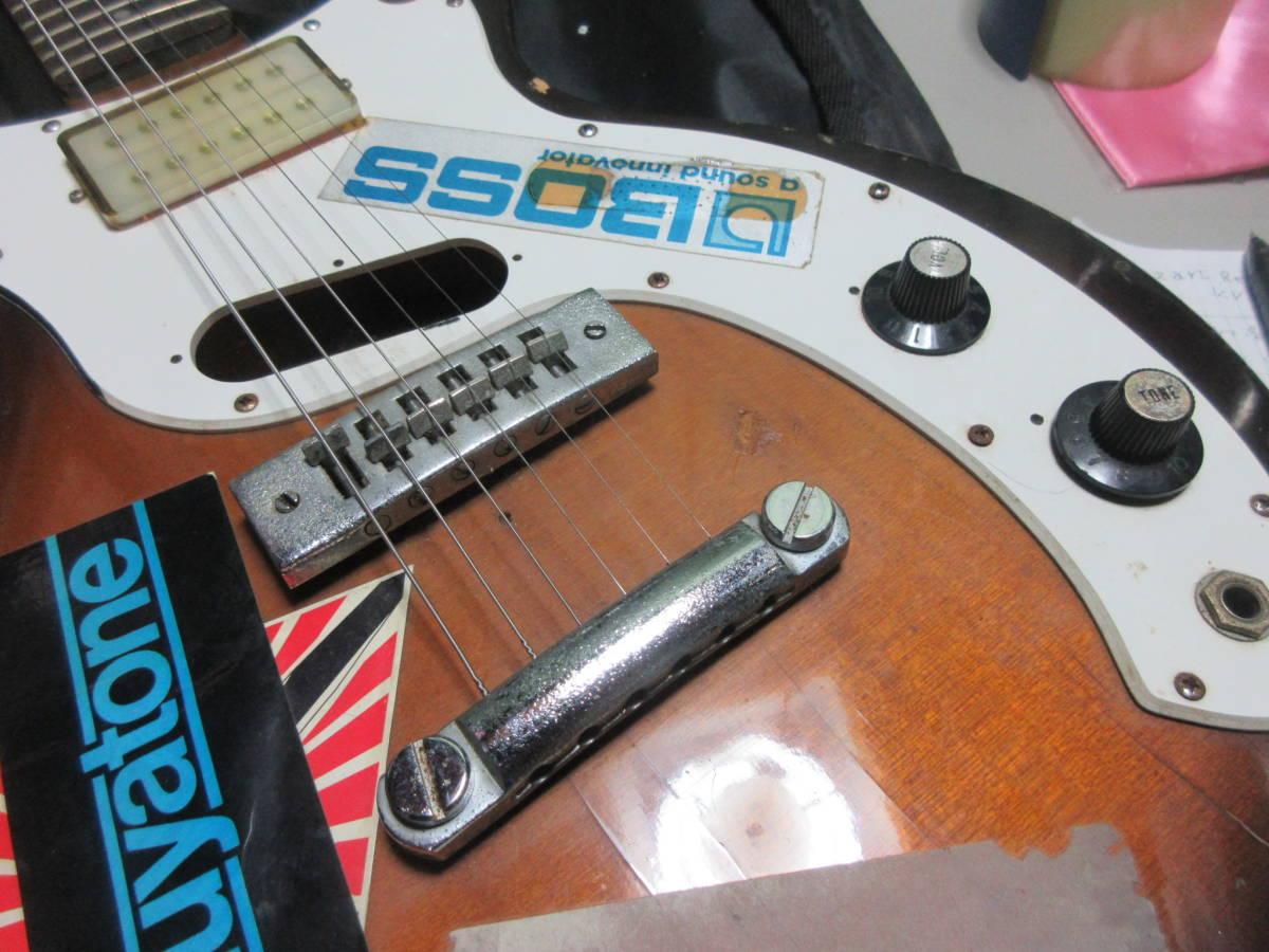 【8】 エレキギターGuyatine 布ケース付き ジャンク品 №倉11.ゆ170 _画像2