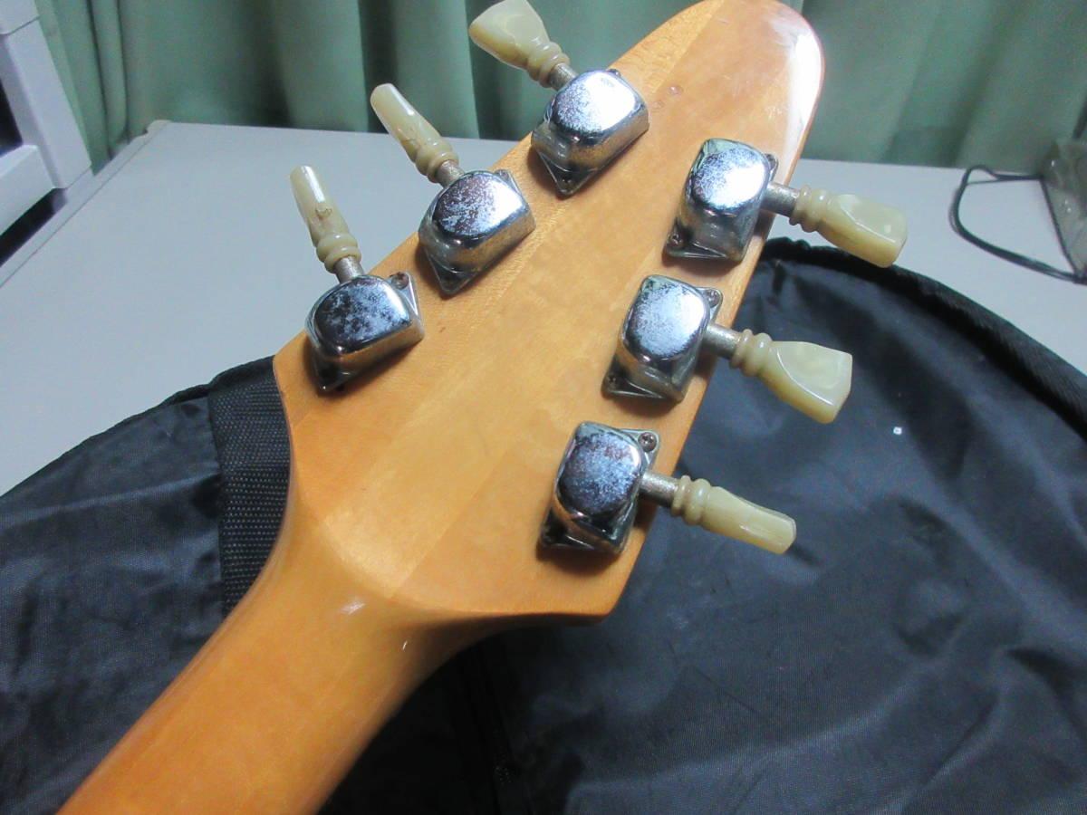 【8】 エレキギターGuyatine 布ケース付き ジャンク品 №倉11.ゆ170 _画像4