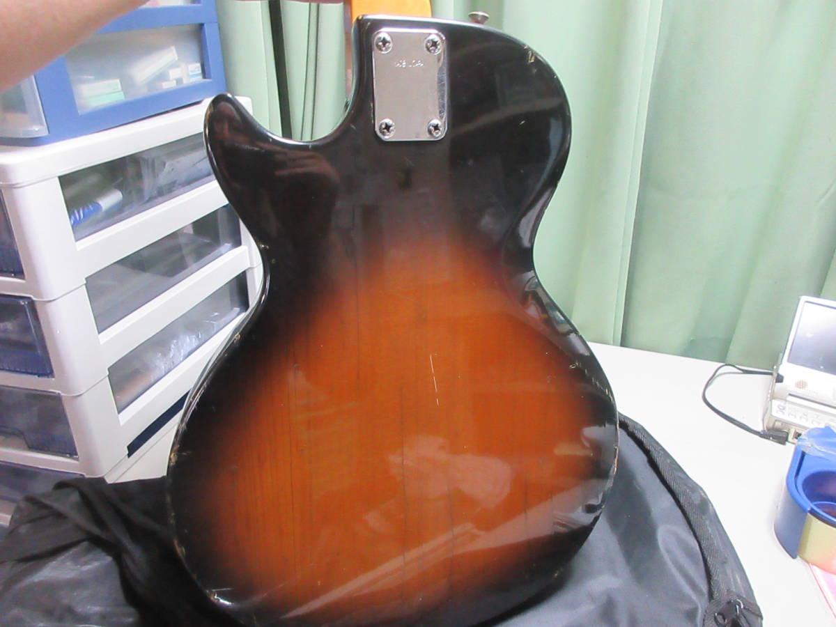 【8】 エレキギターGuyatine 布ケース付き ジャンク品 №倉11.ゆ170 _画像5