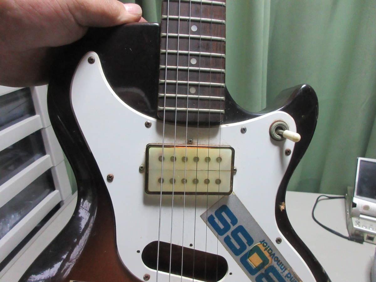 【8】 エレキギターGuyatine 布ケース付き ジャンク品 №倉11.ゆ170 _画像6