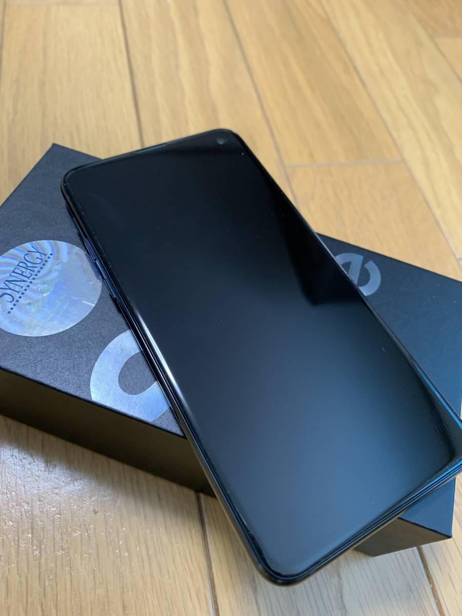 美品★スナドラ855★Samsung Galaxy S10e Dual-SIM SM-G9700【6GB 128GB Prism Black 香港版 SIMフリー】おまけ付き