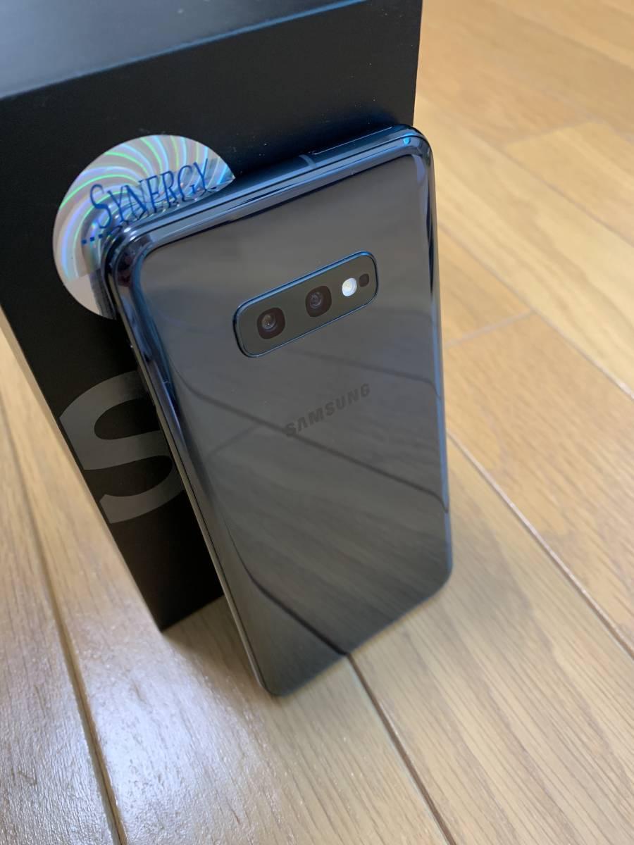 美品★スナドラ855★Samsung Galaxy S10e Dual-SIM SM-G9700【6GB 128GB Prism Black 香港版 SIMフリー】おまけ付き_画像4