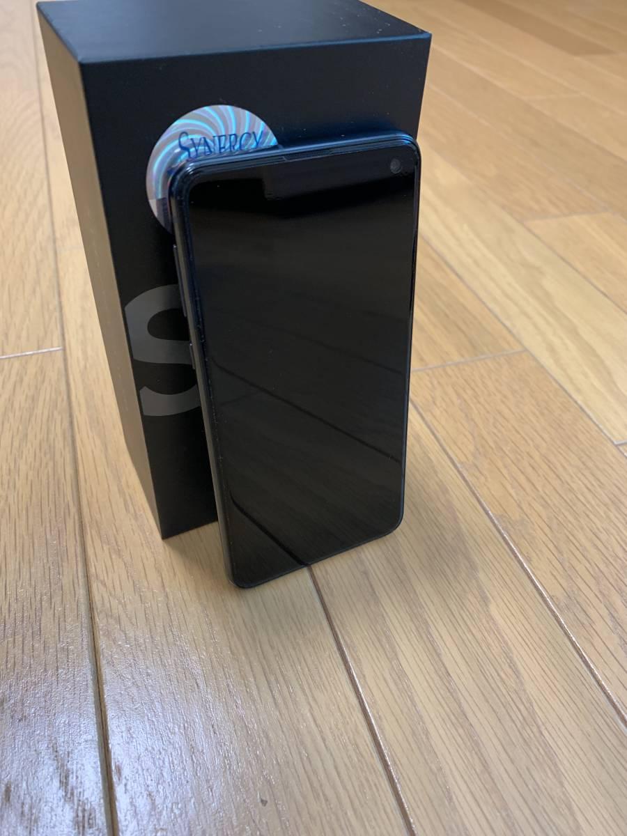 美品★スナドラ855★Samsung Galaxy S10e Dual-SIM SM-G9700【6GB 128GB Prism Black 香港版 SIMフリー】おまけ付き_画像3
