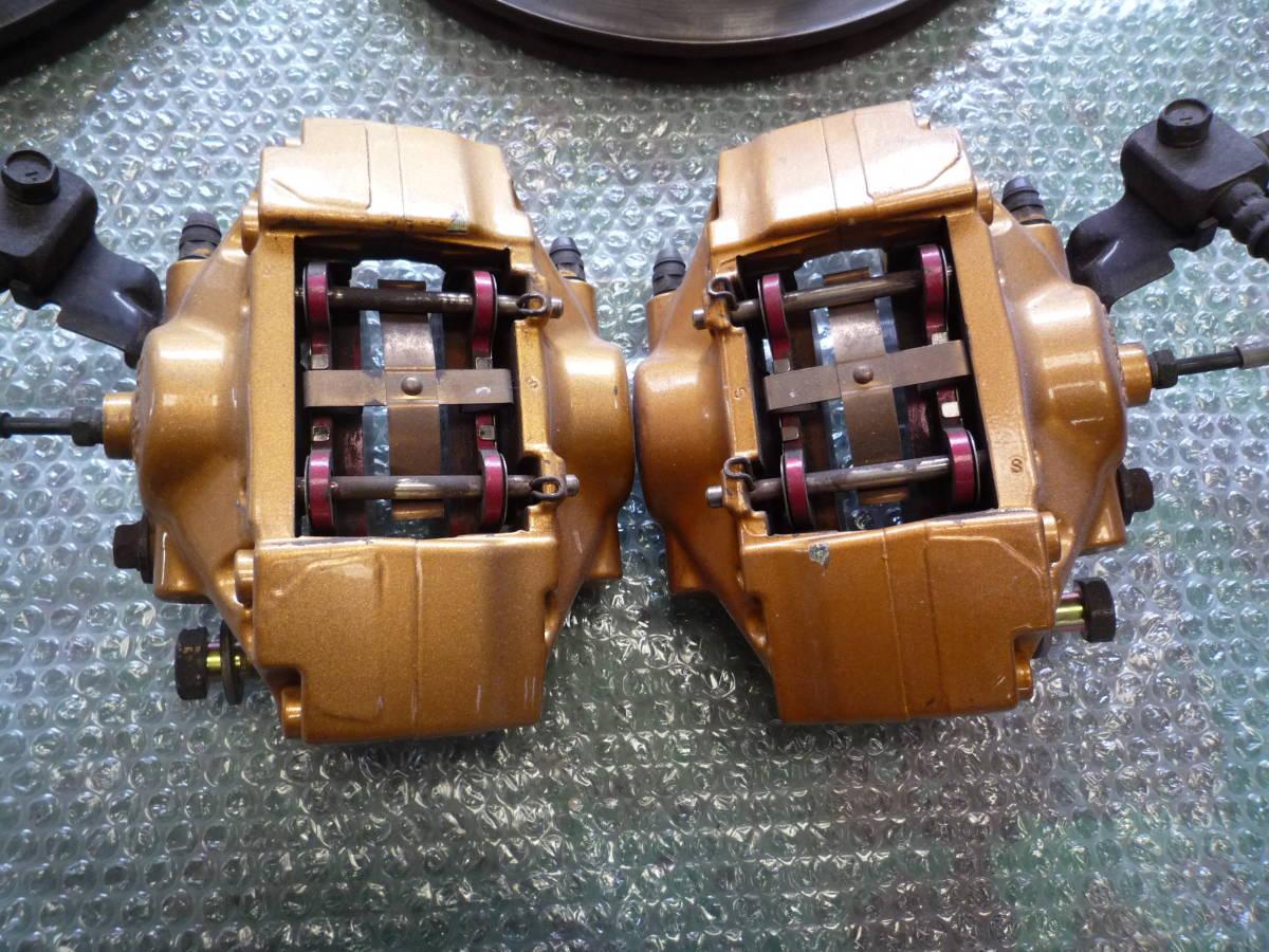 フェアレディ Z33 ver.S 6速MT 純正 brembo ブレンボ リヤ リア キャリパー ローター Z32/Z33/Z32/S13/S14/S15/R32/R33/R34/ 流用_画像7