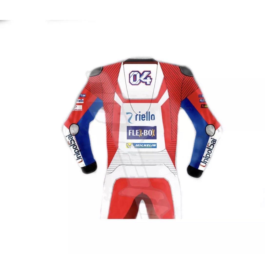 ドゥカティ DUACTI レーシングスーツ 革ツナギ ワンピース レザースーツ 各サイズ_画像2