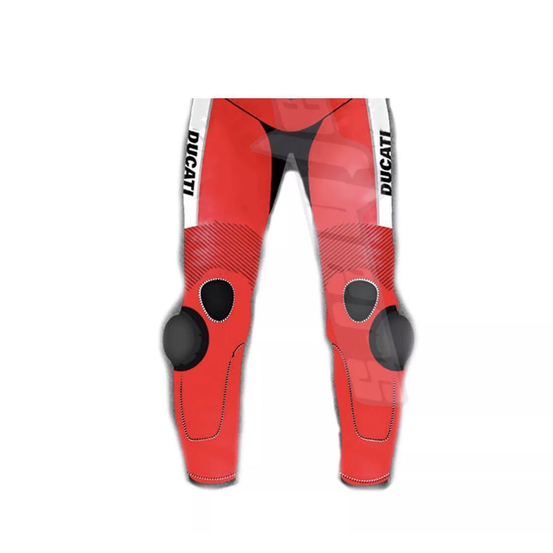 ドゥカティ DUACTI レーシングスーツ 革ツナギ ワンピース レザースーツ 各サイズ_画像3