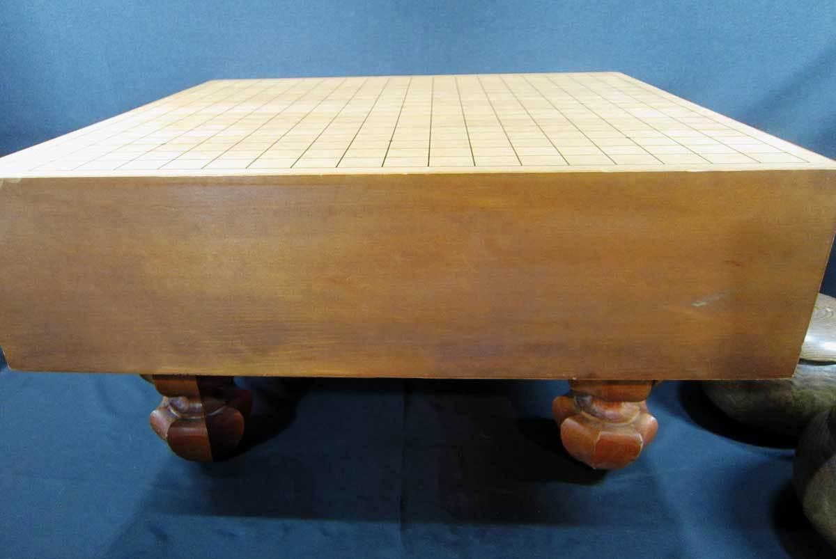 囲碁盤 4寸 碁石付き_画像4