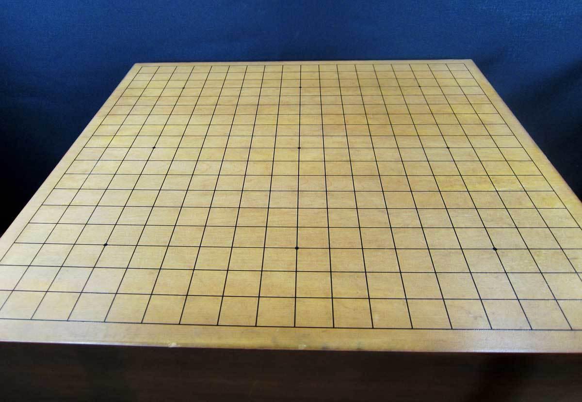 囲碁盤 4寸 碁石付き_画像6