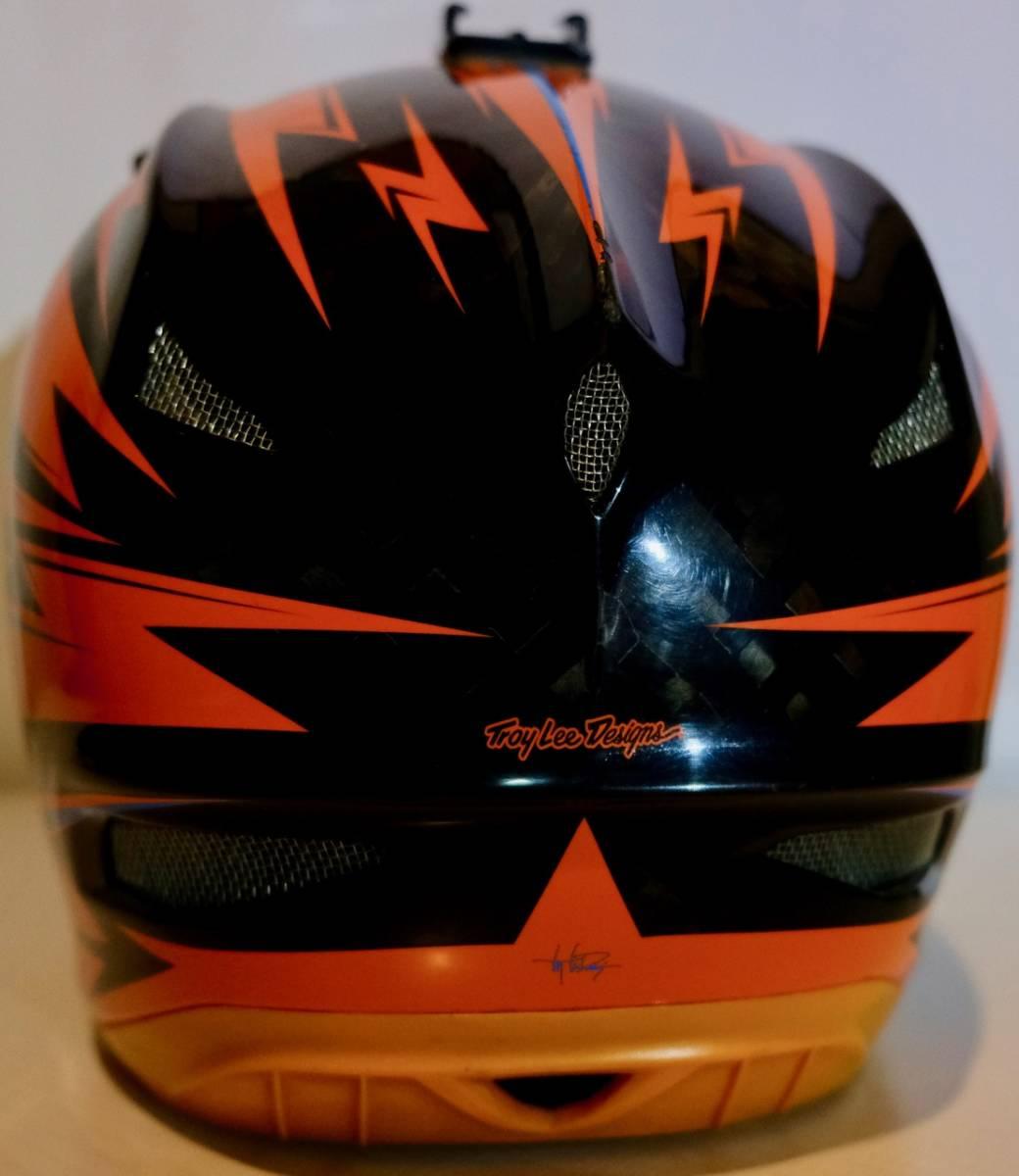 Troy lee designs D3 カーボン (L) トロイリーデザイン ヘルメット BMX MTB tld_画像2