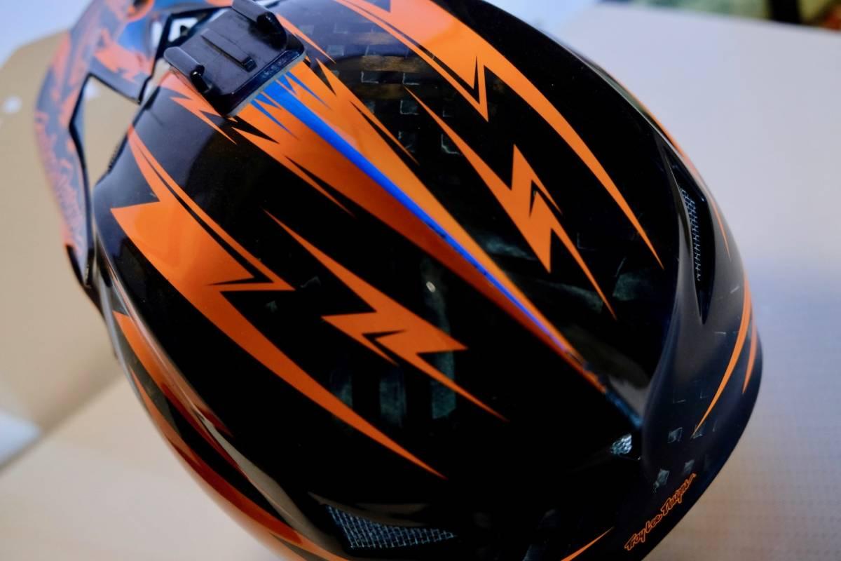 Troy lee designs D3 カーボン (L) トロイリーデザイン ヘルメット BMX MTB tld_画像3