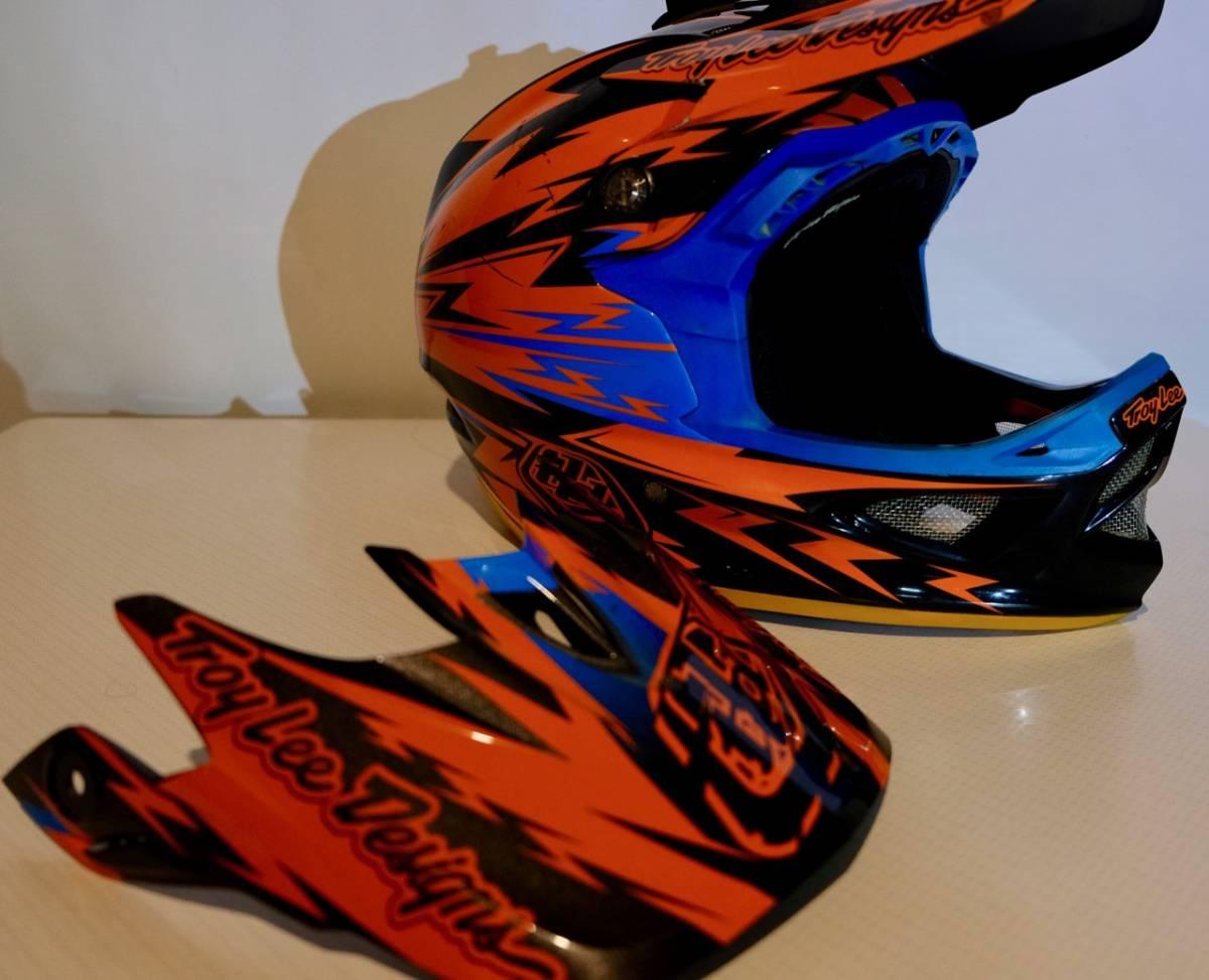 Troy lee designs D3 カーボン (L) トロイリーデザイン ヘルメット BMX MTB tld_画像6