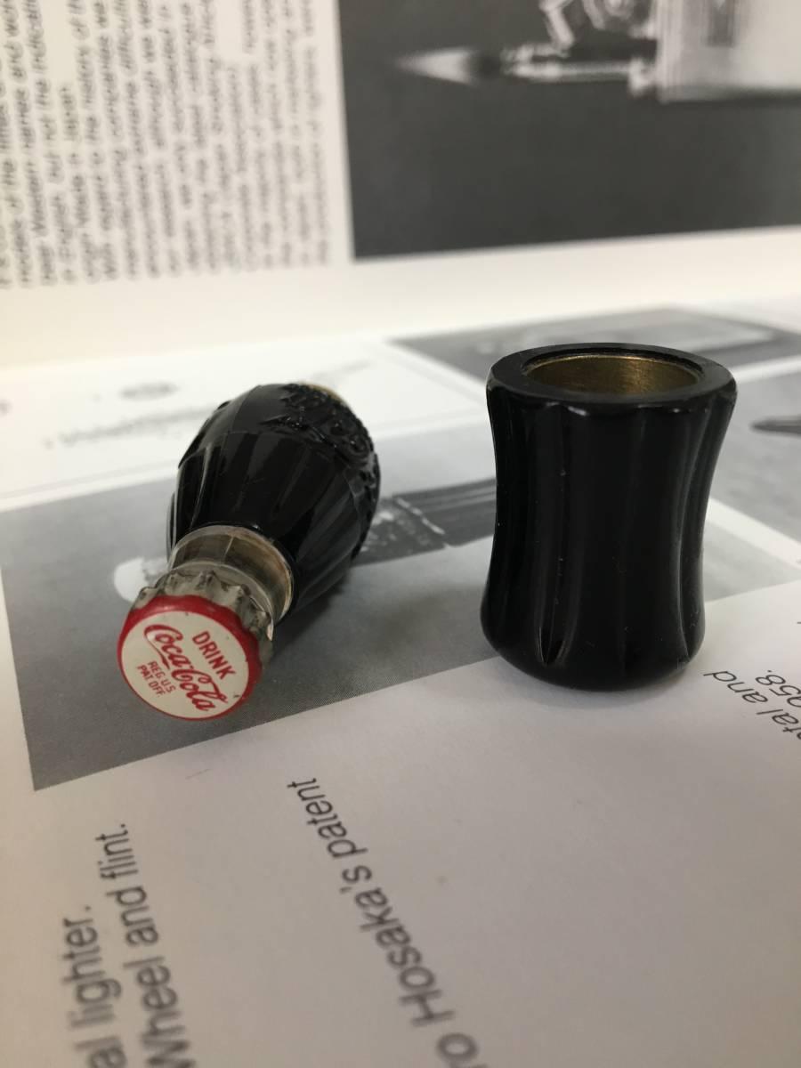 C1950 Coca Cola bottle lighter  コカコーラ社 ボトル オイルライター 未使用品 フルオリジナル 入手困難品_画像3