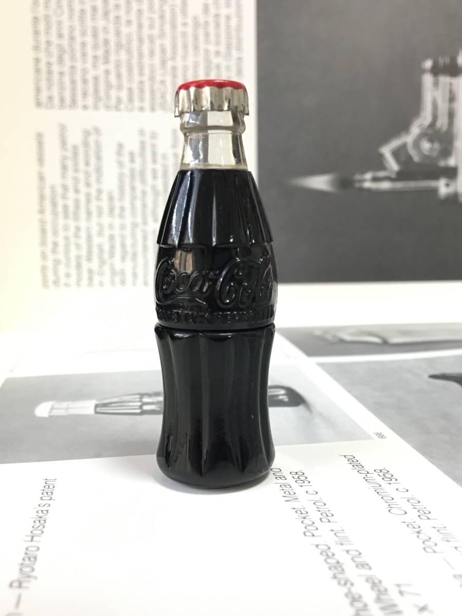 C1950 Coca Cola bottle lighter  コカコーラ社 ボトル オイルライター 未使用品 フルオリジナル 入手困難品_画像5
