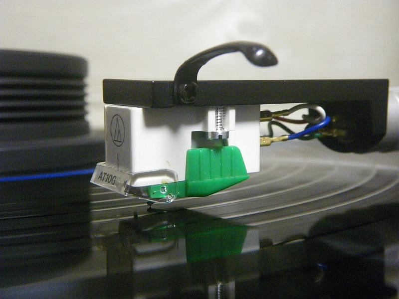 新品同様 MMカートリッジ AT-10G/audio-technica(新品針装着)