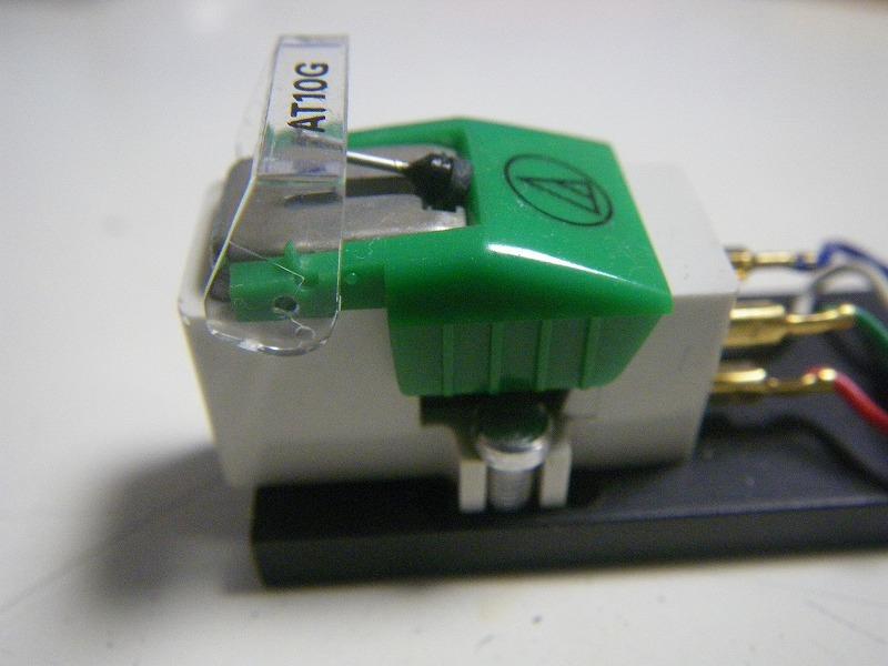 新品同様 MMカートリッジ AT-10G/audio-technica(新品針装着)_画像4