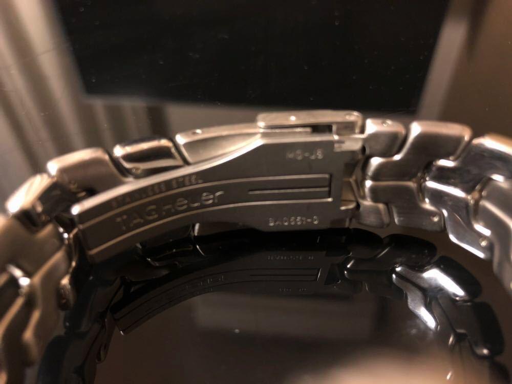 TAG HEUER タグホイヤー/クオーツ/メンズ腕時計/クロノグラフ/文字盤シルバー/CT1112/中古_画像5
