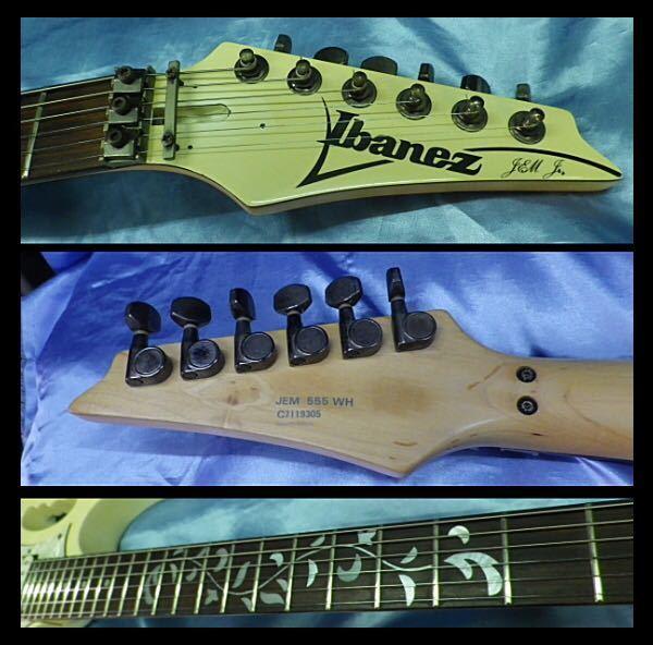 ★ Ibanez JEM555 Jr. スティーブ・ヴァイ MODEL ディマジオピックアップ 搭載モデル ★_画像10