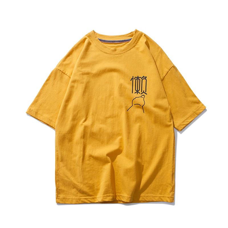 oversize、半袖Tシャツ、女性、ゆとり、2019新モデル、潮、港風、韓版、半袖シャツ_画像5